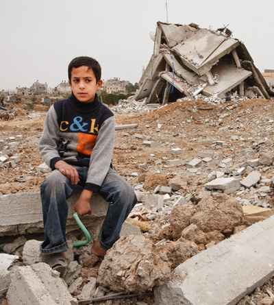 Gaza children photo by Andreas H. Lunde