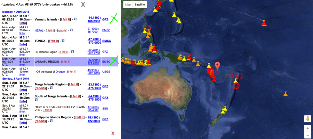 Latest EARTHQUAKES world - Vanuatu Update - Sola, Pacific Ocean